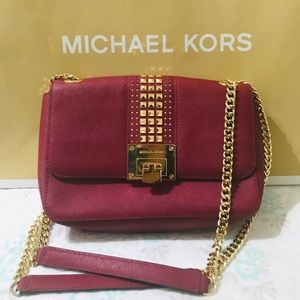 Red Micheal Kors bag